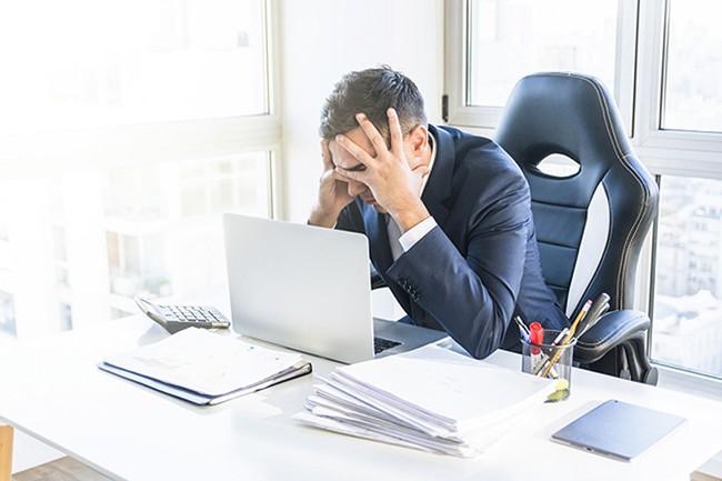 Hiệu suất công việc của bạn bị giảm sút.