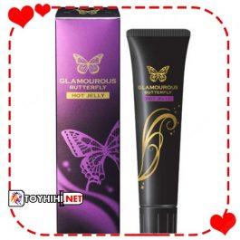 Gel bôi trơn bươm bướm Glamours Butterfly Hot Jelly GBTTC14
