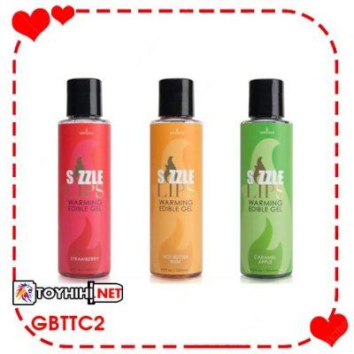 Gel massage làm nóng cơ thể Sensuva Sizzle Lips - GBTTC7 1