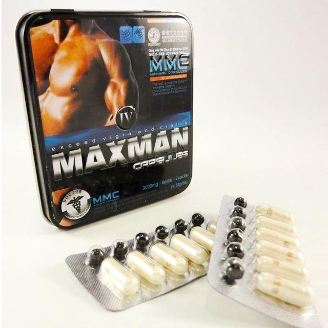 Thảo dược cường dương maxman 3000gsm 12 viên nhộng- sung mãn phong độ như tuổi đôi mươi TTGQHTC2