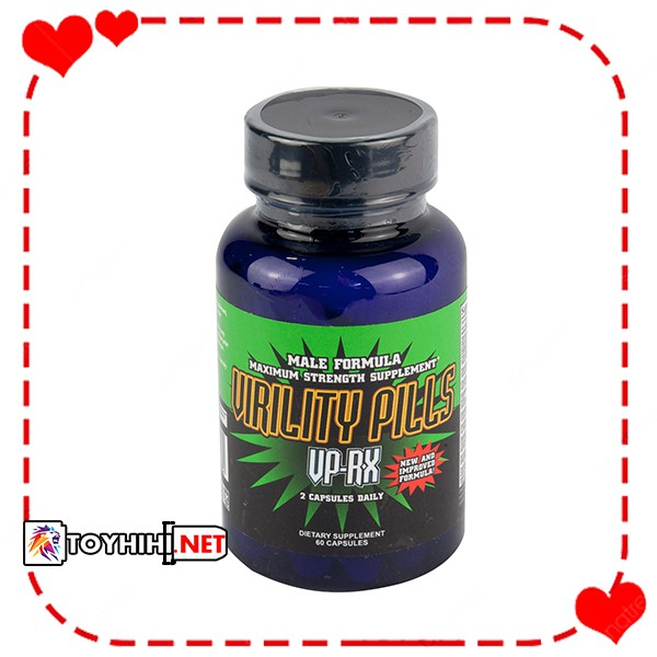 Thảo dược tăng cường sinh lý tăng ham muốn Virility Pills VP TTGQHTC19