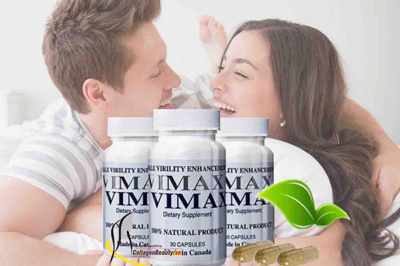 Viên thảo dược phục hồi và tăng cường sinh lý nam giới Vimax từ Canada TTGQHTC16