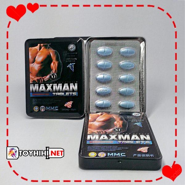 Viên uống Maxman tác dụng cực nhanh – tăng cường sinh lý nam giới TTGQHTC5