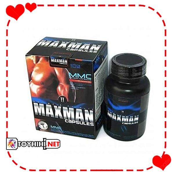 Thảo dược tăng cường sinh lý nam giới Maxman II 60 viên – Nhập khẩu từ Mỹ TTGQHTC14