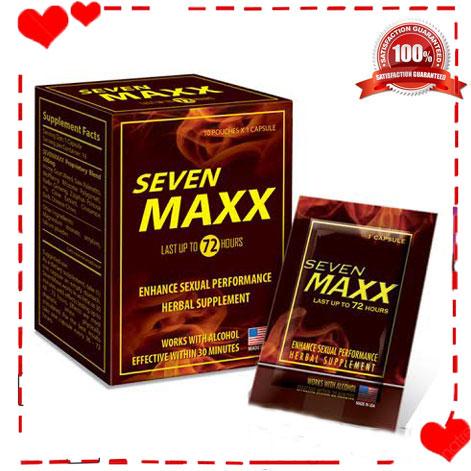 Thảo dược cương dương Seven Maxx- tác dụng 72h TTGQHTC1