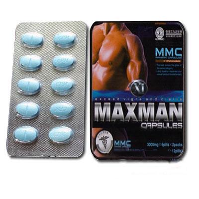 Viên uống Maxman tác dụng nhanh – tăng cường sinh lý phái mạnh TTGQHTC5
