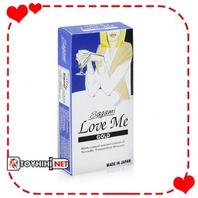 Bcs Sagami Love Me Gold 10c dầu bôi trơn cao cấp BCSTC26 1