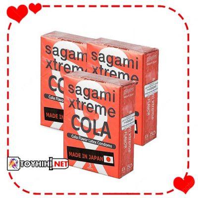 Bcs Sagami Xtreme Cola 3 cái siêu mỏng kéo dài quan hệ BCSTC79 1