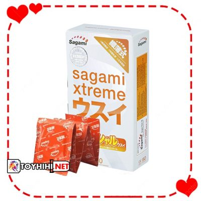 Bcs Sagami Xtreme Superthin siêu mỏng siêu kích thích 10c BCSTC13 1