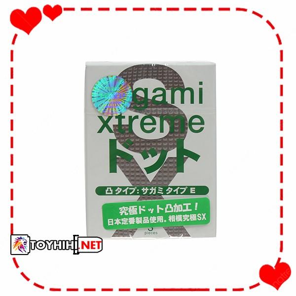 Bcs Sagami Xtreme Type E 3c chống bệnh lây qua đường tình dục BCSTC20