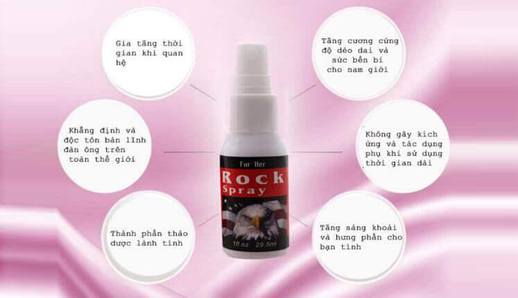 Chai xịt Rock tăng cường độ cương cứng XTSTC6