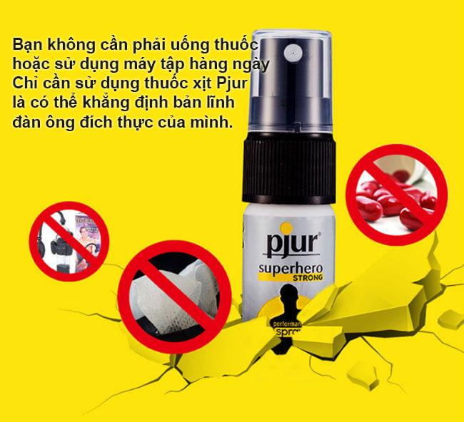 Chai xịt chiết xuất từ gừng Pjur SuperHero Strong XTSTC9