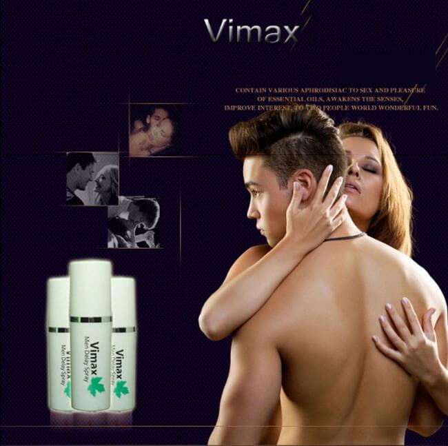 Chai xịt thảo dược thiên nhiên Vimax XTSTC12