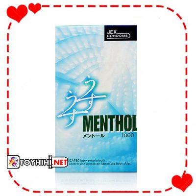 JEX UsuUsu Menthol siêu trơn siêu mỏng BCSTC45 1