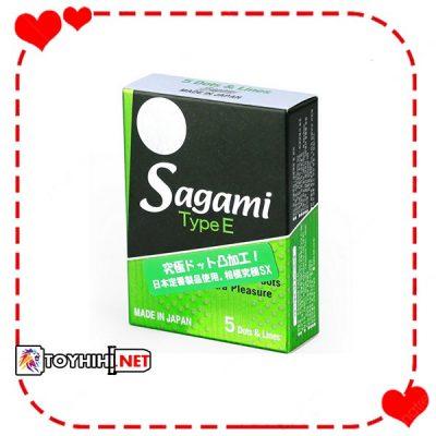Sagami tuyp E Hộp 5cái có gai BCSTC51 1