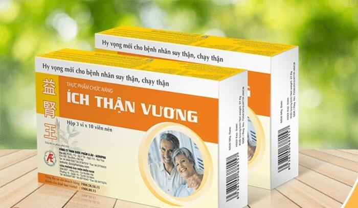 Ích Thận Vương được sản xuất bởi công ty Tư vấn Y dược Quốc tế IMC