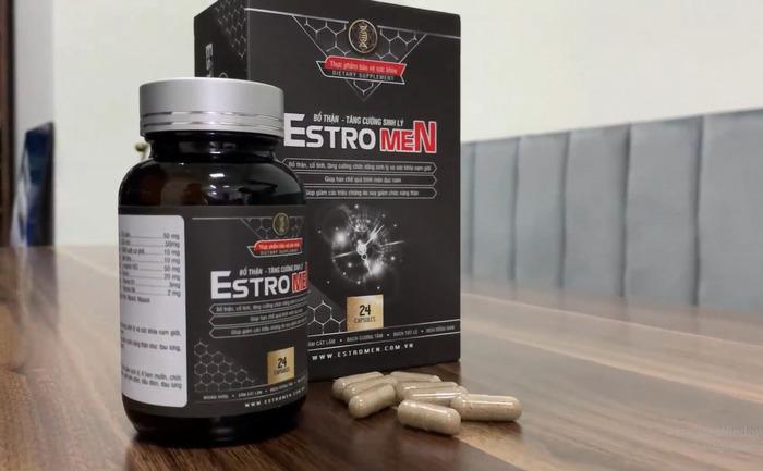 Thuốc bổ thận EstroMen thúc đẩy quá trình sản sinh testosterone