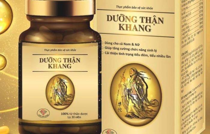 Dưỡng Thận Khang có nguồn gốc từ Đông y có tác dụng bổ thận, hỗ trợ điều trị chứng thận hư, yếu