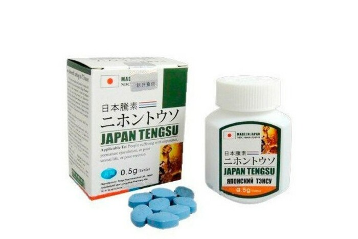 Thuốc cương dương Tengsu của Nhật được bào chế dạng viên nén dễ uống