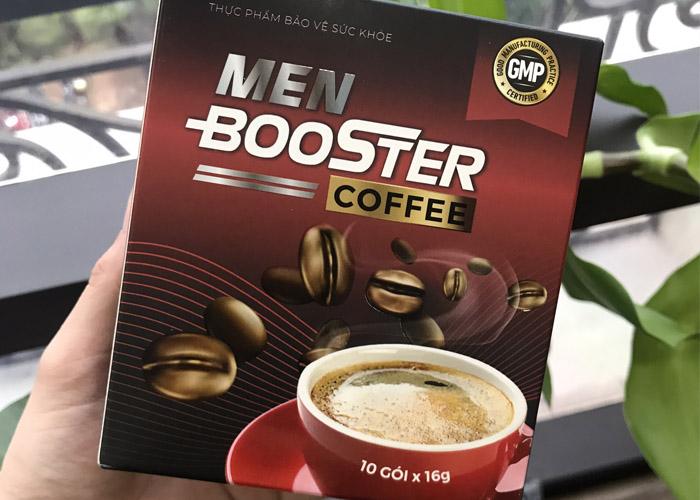 """Men Booster Coffee nói """"không"""" với yếu sinh lý"""