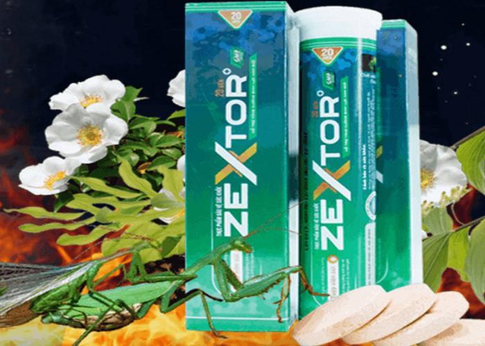 Viên sủi Zextor - Viên sủi sinh lý cho cảm xúc thăng hoa
