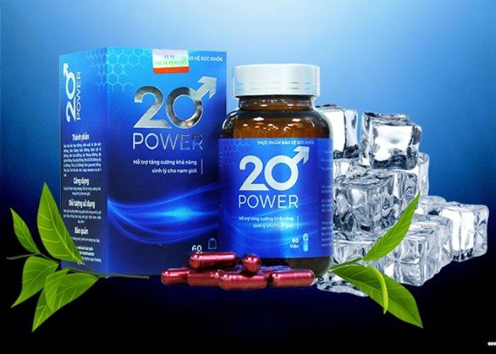 20 POWER - Trở lại tuổi 20 với sinh lực cường mãn