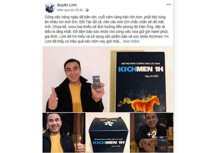 MC Quyền Linh đánh giá về Kichmen plus 2