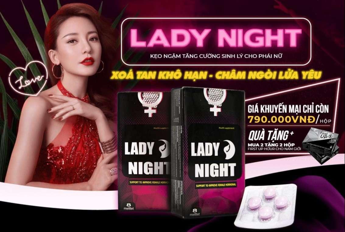 Viên ngậm Lady Night giá bao nhiêu?