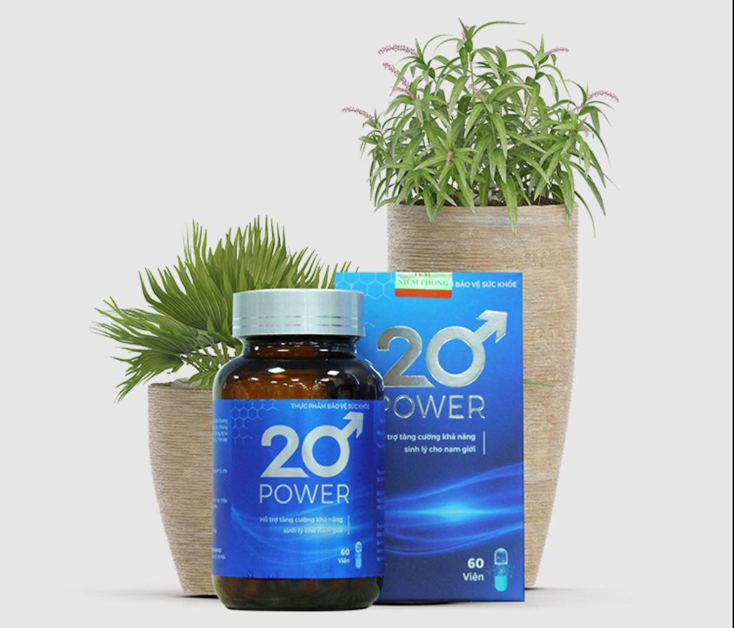 Tác dụng của viên uống sinh lý 20 POWER