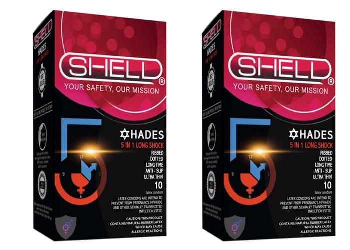 Shell Premium 5 in 1 - Bao cao su kéo dài thời gian quan hệ