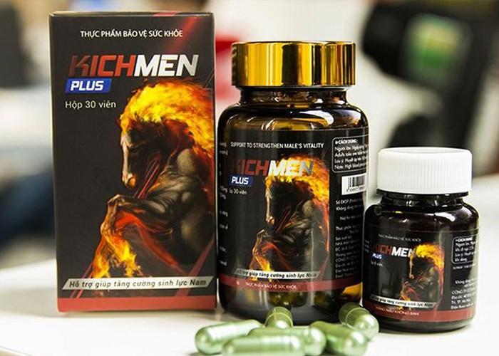 Thuốc chống xuất tinh sớm Kichmen Plus 2 - Cho bạn nguồn sinh lực của chiến mã