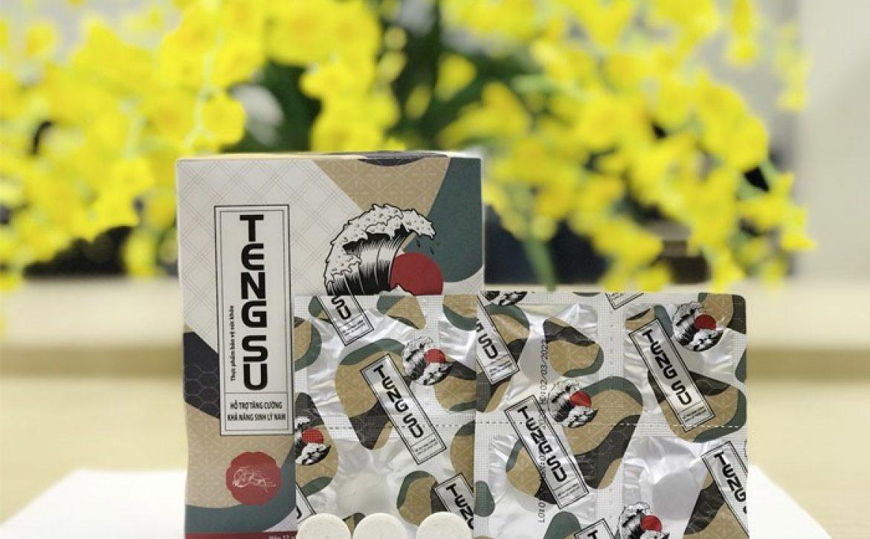 Viên ngậm Tengsu – Thuốc kéo dài thời gian quan hệ Nhật Bản tốt nhất