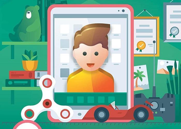 Được tích hợp chương trình Kaspersky Safe Kids